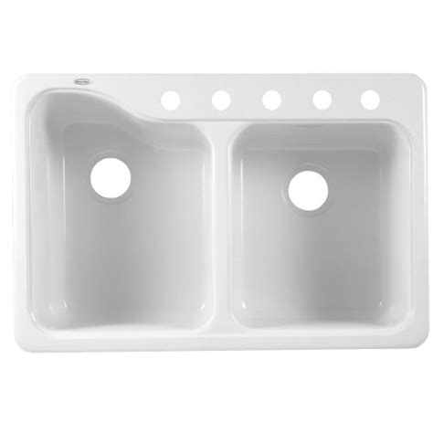 americast kitchen sink best american standard 7145 805 208 silhouette 33 by 22