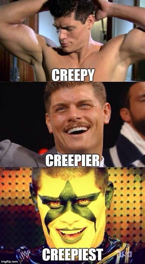 Cody Memes - cody rhodes gimmicks lol all things wrestling pinterest