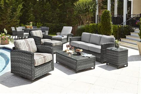 woven patio furniture furniture all weather garden furniture all weather resin
