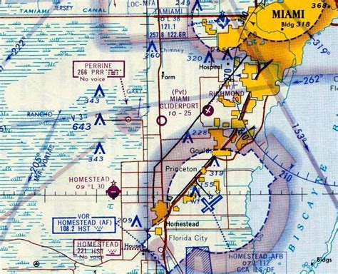 miami sectional chart abandoned little known airfields florida southern