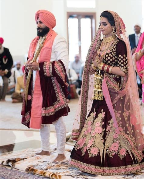 Best 25  Punjabi wedding suit ideas on Pinterest   Wedding