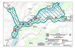 map of creek arizona fossil springs trail 18 fossil creek hiking arizona