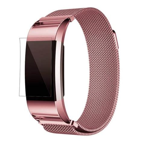 Fitbit Charge 2 Replaceable Watch Strap Rose Gold