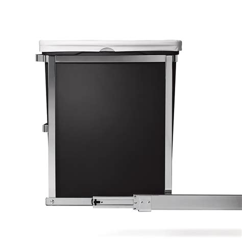 under pull out garbage can amazon com simplehuman 30 liter 8 gallon under counter