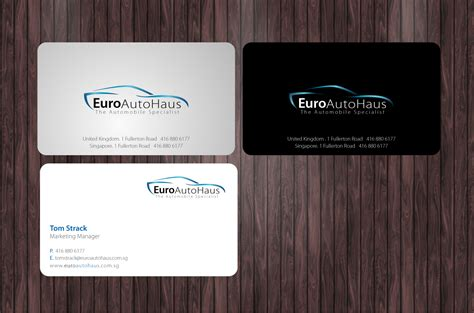 design name card serious professional business card design for muhammad