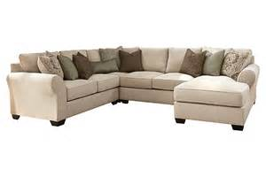 Dining Room Sets Ashley Furniture wilcot 4 piece sofa sectional ashley furniture home store