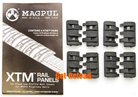 Magpul Style By Element Xtm Rail Panel Black Ex294 Bk 1 magpul xtm rail panel black 4 pairs airsoftgogo