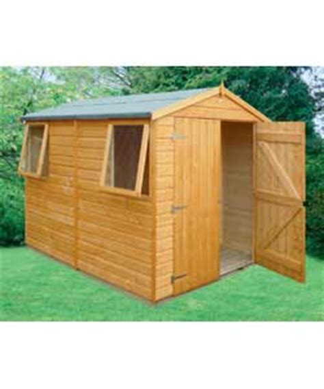 Wooden Garden Sheds 10 X 7 by Workshop Wooden Shed 10x7 Garden Shed Review Compare