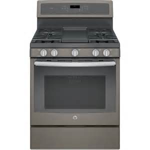 Ge Stainless Steel Cooktop Shop Ge Profile 5 Burner Freestanding Convection Gas Range