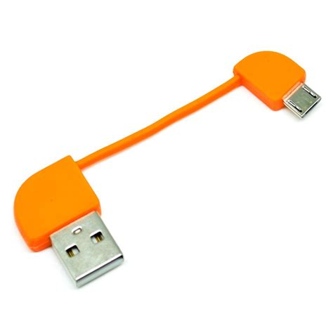 Replaceable Micro Usb Cable For Powerbank Hame T6 1 replaceable micro usb cable for powerbank hame t6 orange