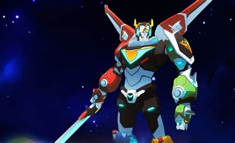 new voltron movie voltron sizzle reel and clip assembles the new netflix series