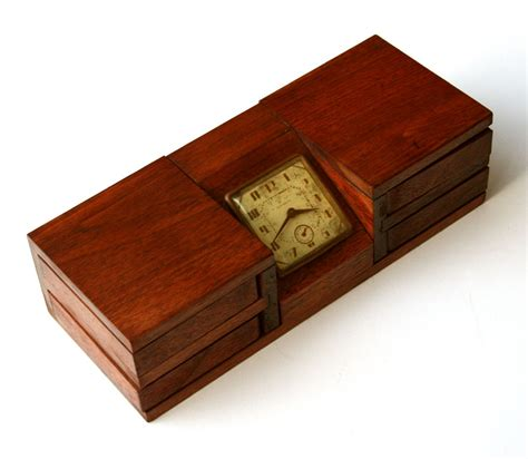 desk box with clock for sale antiques classifieds