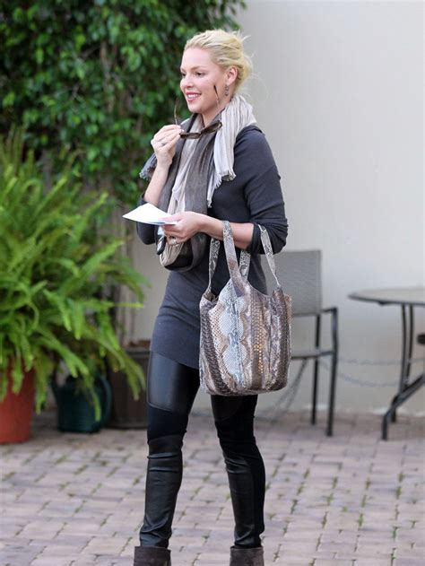 Style Katherine Heigl Fabsugar Want Need 3 by And Boots Katherine Heigl Boots Scarf