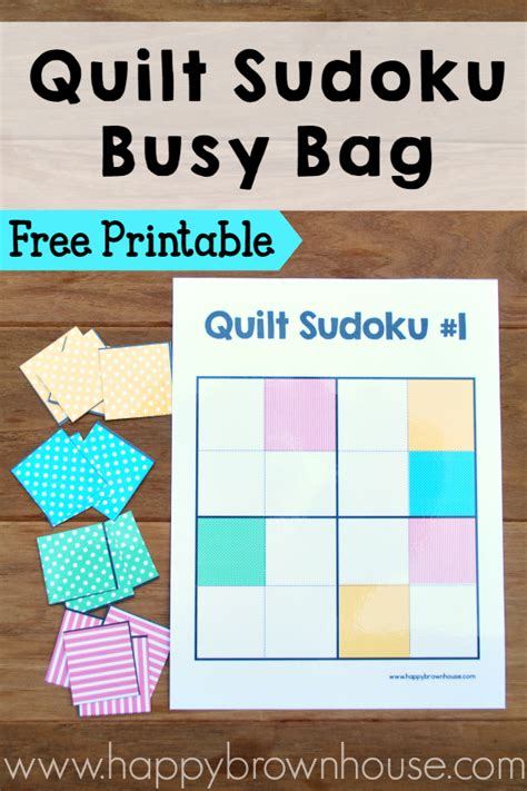 printable quilting games quilt sudoku for kids busy bag free printable happy
