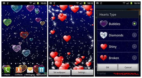 live valentines wallpaper 19 free lovely day live wallpapers the android
