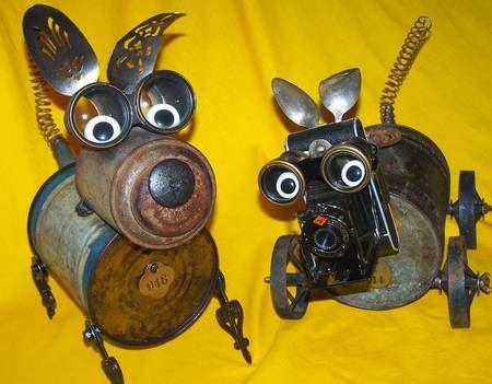steampunk robot dog    camera eye gadgetsin