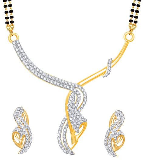 vk jewels creative design gold and rhodium plated
