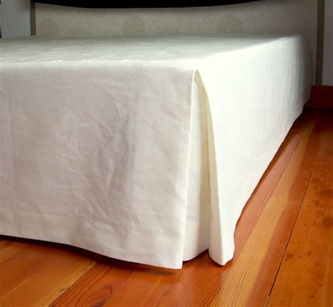 bed skirt natural bed skirts custom made