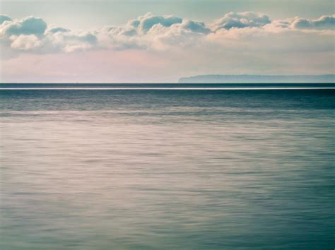 calming blue calm blue ocean photograph by eva kondzialkiewicz
