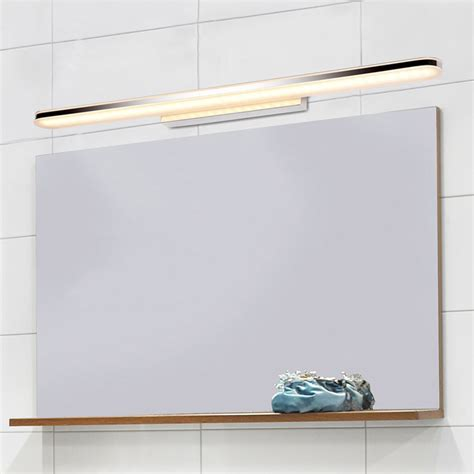 long mirror with lights 80cm long bathroom wall light fashionable indoor bedroom