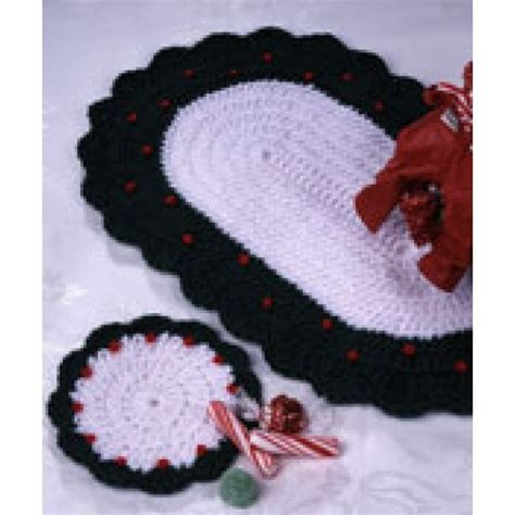 pattern christmas placemats free country christmas placemat crochet pattern