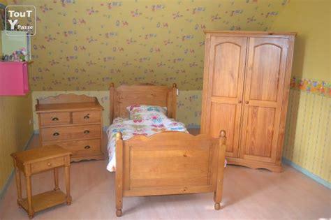 chambre bébé pin massif chambre compl 233 te pin massif auxerre 89000