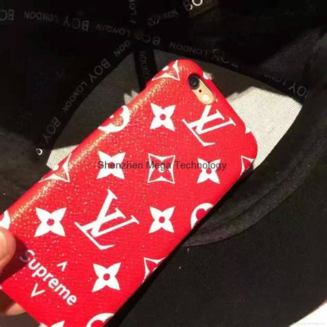 lv supreme hot designer brand hard phone cover  iphone      pc  china