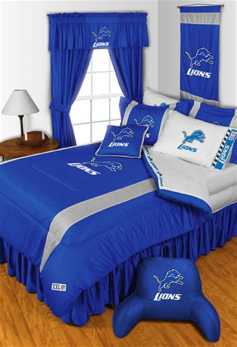 detroit lions bedding nfl detroit lions bedding and room decorations traditional bedroom detroit by