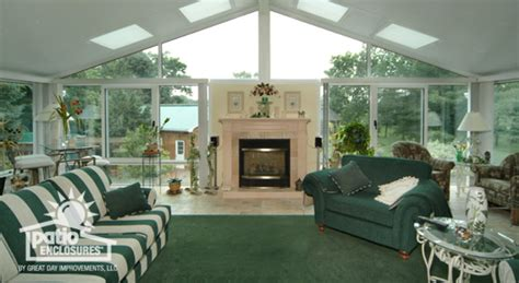 Sunrooms with Fireplaces: Ideas & Pictures