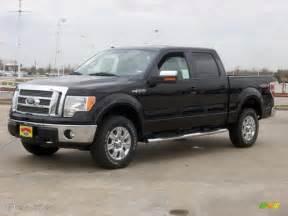 2009 black ford f150 lariat supercrew 4x4 7695219