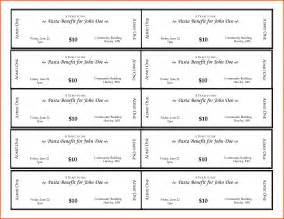 blank ticket template search results for free printable blank raffle ticket