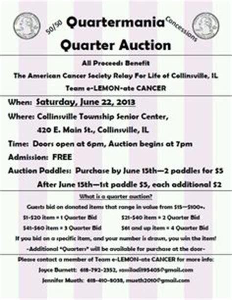 Donation Letter For Quarter Auction Quarter Auction Ideas On Auction Ideas Fundraising And D