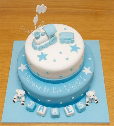 Baby Shower Cakes For Boys by Baby Shower Cakes Baby Shower Boy Cake Ideas