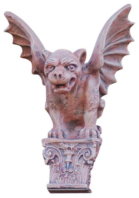 gargoyle home decor wall hanging gargoyle traditional wall sculptures by