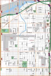 Chicago Map South Side by Chicago Map South Side