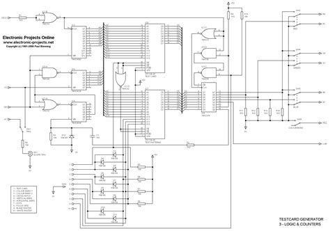 pattern generator ic schematic besides pattern generator circuit on hex pcb