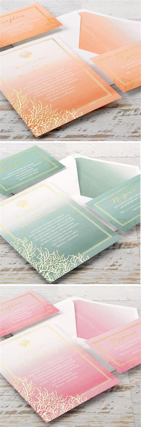 best 20 coral wedding invitations ideas on coral invitations wedding theme