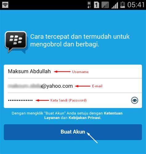 membuat akun instagram blackberry cara daftar akun blackberry id bbm di android komputer