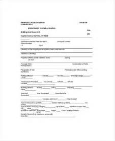 Space Rental Agreement Template Lease Proposal Template 5 Free Word Pdf Documents