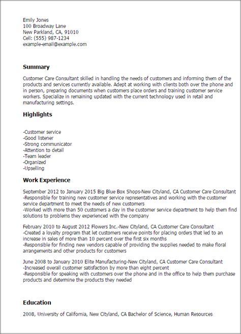 cover letter for customer care officer customer care consultant resume template best design