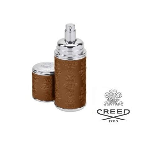 creed camel leather atomizer