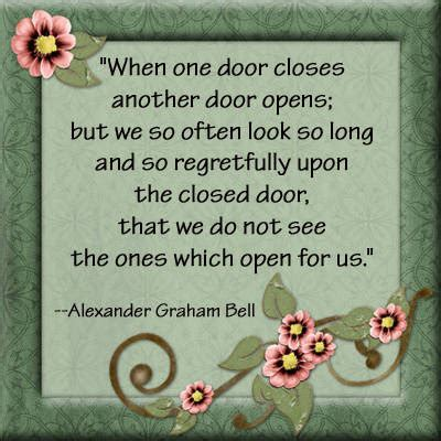 When We Get Closed Doors by Open And Closed Doors Quotes Quotesgram
