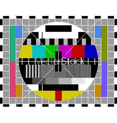 test pattern pal pal tv test pattern tv test patterns pinterest