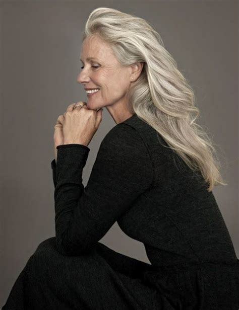 pic of 36 yr old woman with grey hair 295 best in praise of older women images on pinterest
