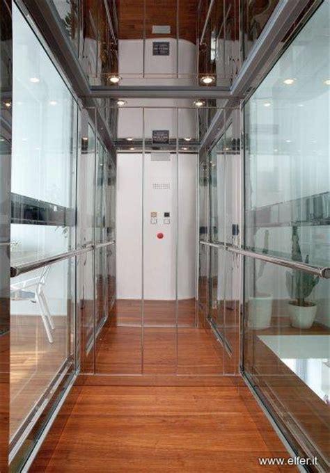 cabina ascensore cabina panoramica ascensore in acciaio e vetro elfer