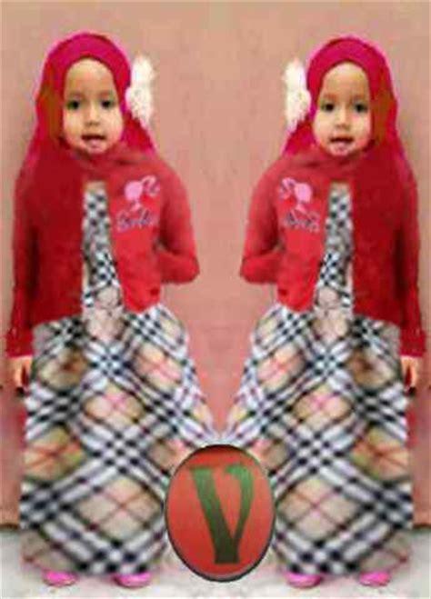 Gamis Ibu Anak 5 7 Tahun Free Bergo baju gamis burberry kid gk 240 koleksi baju anak