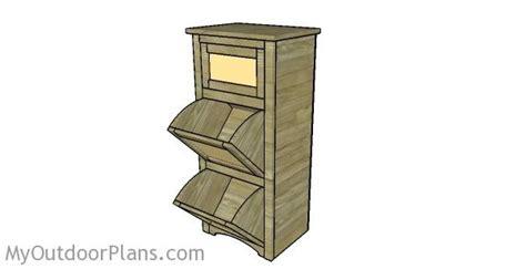 potato bin woodworking plans potato bin plans myoutdoorplans free woodworking plans