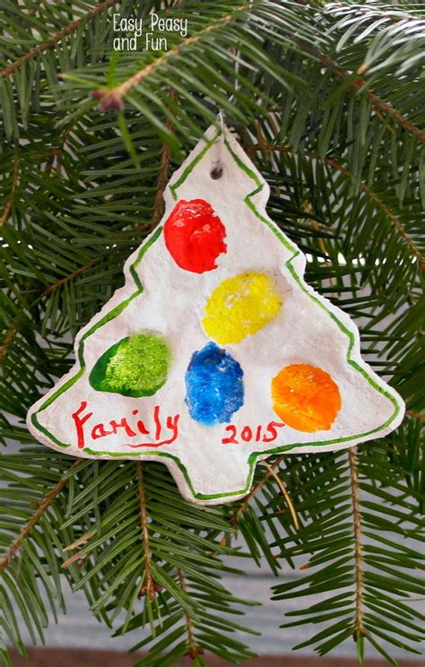 craft tree decorations best 25 family fingerprint ornament ideas on