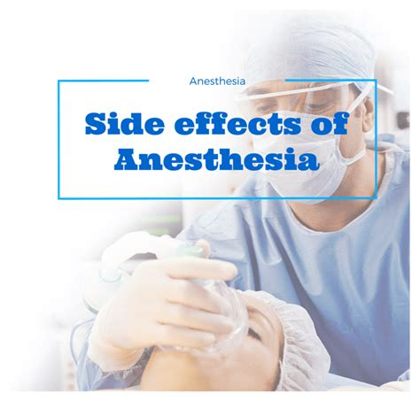 anesthesia side effects side effects of anesthesia 15 dangerous reactions of