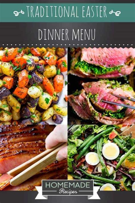 15 traditional easter dinner menu homemade recipes